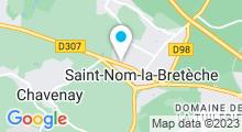 Plan Carte Akoya Spa à Saint-Nom-La-Bretèche