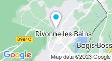 Plan Carte Thermes de Divonne-les-Bains