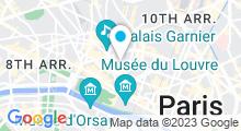 Plan Carte Houda Spa à Paris (2ème)