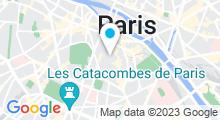 Plan Carte Or'Normes Spa & Hammam à Paris (5ème)