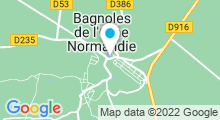 Plan Carte Spa de l'Hôtel du Béryl*** à Bagnoles-de-l'Orne