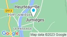 Plan Carte Spa du Domaine Le Clos des Fontaines à Jumièges