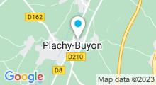 Plan Carte Le Spa à Plachy Buyon