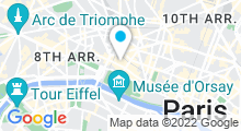 Plan Carte Spa du Mandarin Oriental à Paris (1er)