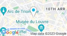 Plan Carte Spa Cinq Mondes à Paris (9ème)