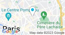 Plan Carte Spa Mamabali à Paris (11ème)