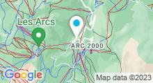 """Plan Carte Spa Deep Nature """"Les Sources de Marie"""" à Arc 1950"""