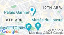 Plan Carte I-Spa by Algotherm à Paris (9ème)