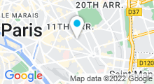 Plan Carte Oriental Spa à Paris (11ème)