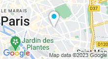"""Plan Carte Spa """"Un Coin du Paradis"""" à Paris (11ème)"""