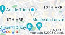 Plan Carte Keiraõ Spa à Paris (9ème)