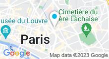 Plan Carte Spa L'Echappée à Paris (11ème)