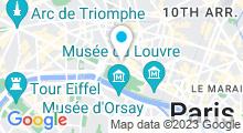 Plan Carte Spa Six Senses à Paris (1er)