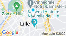 Plan Carte Spa Center à Lille