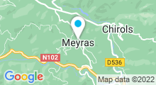 Plan Carte Thermes à Neyrac-les-Bains