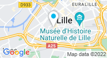 Plan Carte Zeïn Oriental Spa à Lille-Wazemmes