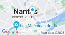 Plan Carte Zeïn Oriental Spa à Nantes