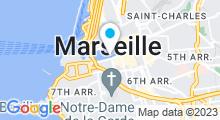 Plan Carte Zeïn Oriental Spa à Marseille