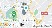 Plan Carte Esthetic Spa à Lille