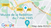 Plan Carte Spa Aqua Attitude à Reims
