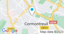 Plan Carte Clini-Spa à Cormontreuil
