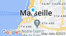 Plan Carte Spa Cinq Mondes à Marseille (7ème)