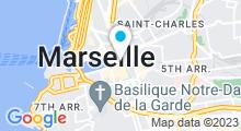 Plan Carte Spa Les Bains du Harem à Marseille (1er)