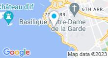 Plan Carte Thalasso et Spa du Château Berger à Marseille