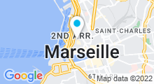 Plan Carte Moment Fish Spa Panier à Marseille