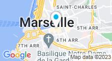 Plan Carte Spa La Bastide des Bains à Marseille