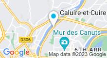 Plan Carte Spa Lyon Plage à Lyon