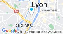 Plan Carte Spa Cinq Mondes à Lyon (2ème)