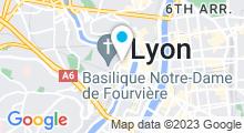 Plan Carte Spa Saint-Jean à Lyon (5ème)