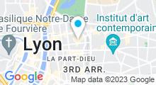 Plan Carte Fish'n Feet à Lyon