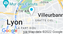 Plan Carte Royal Spa à Lyon