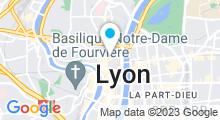Plan Carte Espace Capucins à Lyon (1er)