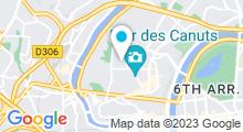 Plan Carte Spa des Canuts à Lyon (4ème)