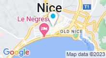 Plan Carte L'Instant Spa à Nice