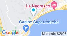 Plan Carte Spa Ile de Beauté à Nice