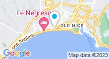 Plan Carte Spa du Méridien à Nice