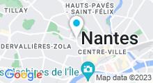 Plan Carte Calypso Spa Bastille à Nantes