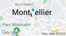 Plan Carte Soraya Kerr - Beauty Spa à Montpellier