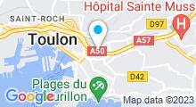 Plan Carte Spa Ambiance Beauté à Toulon