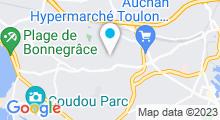 Plan Carte Vanilla Spa à Six-Fours-Les-Plages