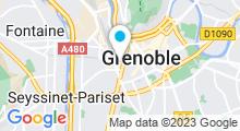 Plan Carte Hammam Café à Grenoble