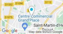 Plan Carte Elgé Spa à Grenoble