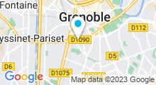Plan Carte Hammam Les Jardins d'Amakrys à Grenoble