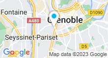 """Plan Carte Spa et Hammam """"D'air et d'eau"""" à Grenoble"""