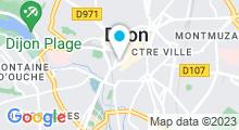 Plan Carte Spa Aqua Natures à Dijon