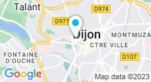 Plan Carte La Médina Hammam à Dijon